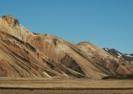 Colored Rhyolite Mountain