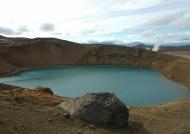Myvatn Viti Crater.