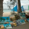 Boracay  The art up to the beach