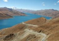 Tibet Yamdrok Yumtso (Tzedang Rd)
