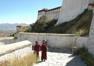 Monks around the Potala
