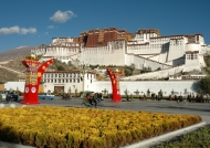 In front of the Potala Palace