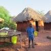 Inside the village…