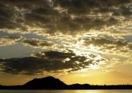 Sunset at Kariba Lake