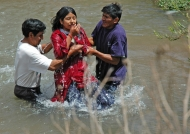 Baptism in the river