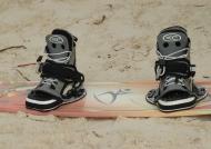 Kiteboarding shoes