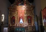 Altar inside the Convento