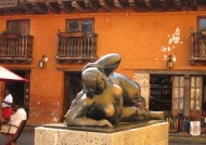 Botero's bronze Gorda