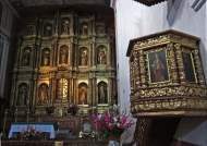 Candelaria church altar