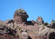 Volcanic chimney