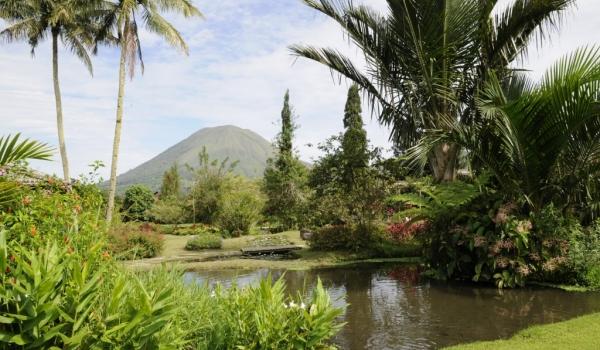 Active Lokon Volcano