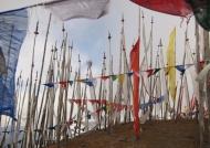 Chelela Pass-Prayer flags