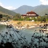 Punakha rivers confluence