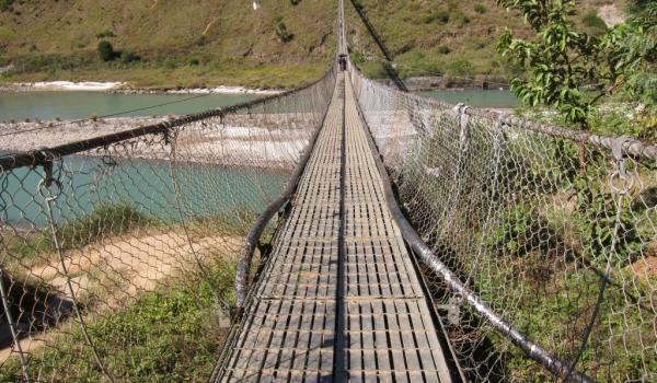 Punakha longest bridge