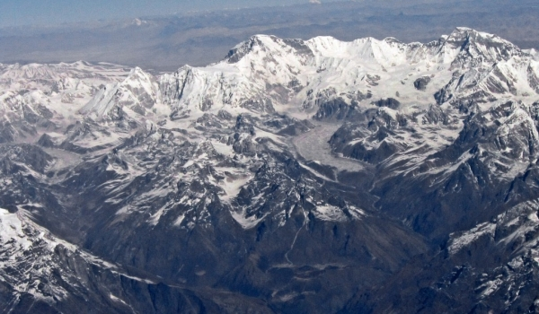 Himalaya before landing