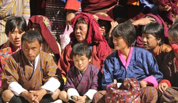 Bhutan's population 750 000