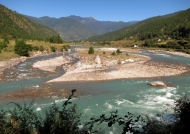 River banks near Punakha