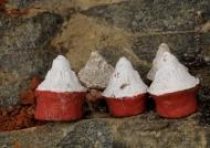Tsa-tsa miniature stupas