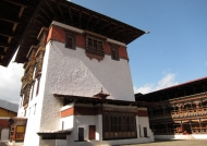 Dzong main tower