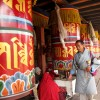 Big prayer wheels