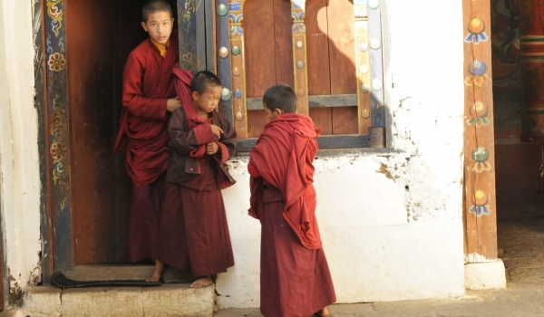 Chimi temple – Monks