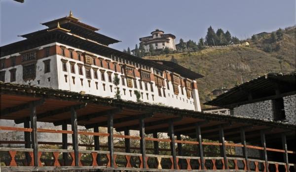 Bridge to the Dzong