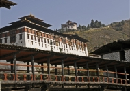 Bridge to the Dzong