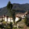 View of Trongsa Dzong