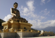 Thimphu Buddha built in 2011