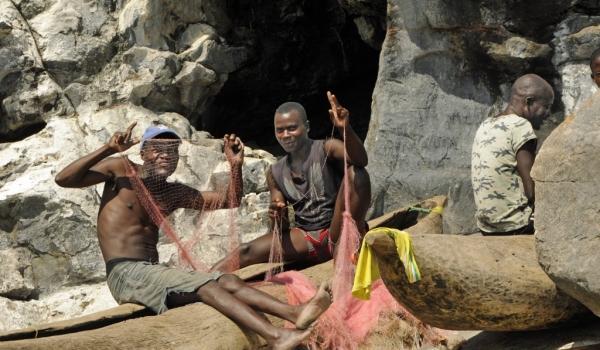 Lake Malawi fishermen