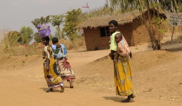 Typical Malawi women