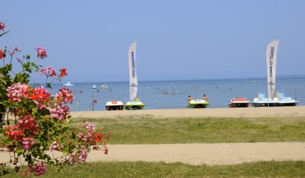 Excenevex beach