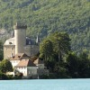 Annecy lake – Duingt castle