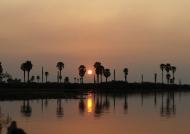 Sunset on Lake Manze