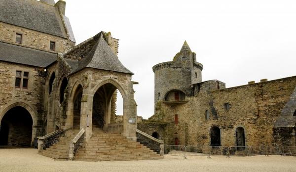 Vitré Castle – Inner court