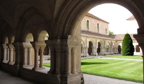 Fontenay Abbey – cloister