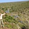 Nwanetzi river from  the ridge