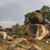 Boulders typical of Kopjes