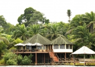 Loango main lodge