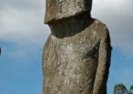 One Moai among the seven