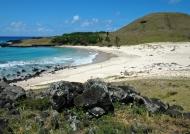Anakena beach-Easter Island