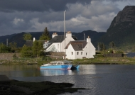 Scotland Plockton village