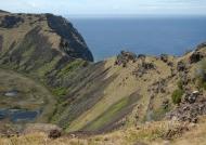Rano Kau extinct volcano