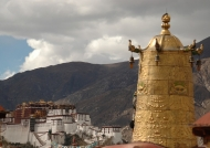 Potala from Jokhang temple