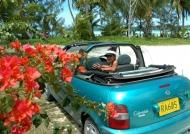 Driving in Aitutaki