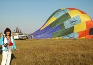 Return from Balloon Trip
