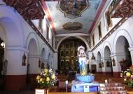 Candelaria church interior