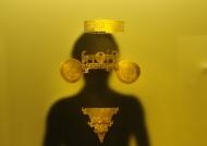 Human gold ornaments