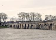 Beaugency bridge on the Loire