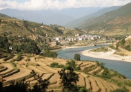 Punakha valley